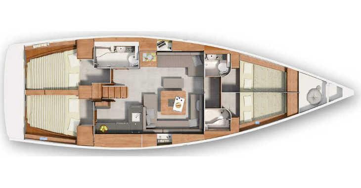 Chartern Sie segelboot in ACI Marina - Hanse 455