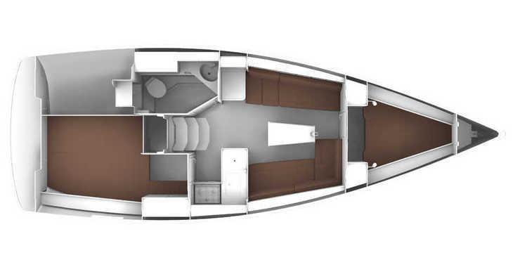Alquilar velero Bavaria 33 Cruiser en ACI Marina Dubrovnik, Dubrovnik city