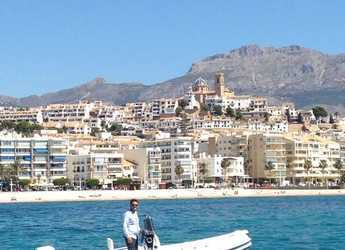 Rent a dinghy in Club Nautico de Altea  - Gommonautica G48