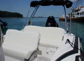 Rent a motorboat Zar 53 - Flipper  in Yacht kikötő - Tribunj, Tribunj