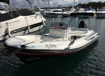 Rent a motorboat in Yacht kikötő - Tribunj - Zar 53 - Flipper
