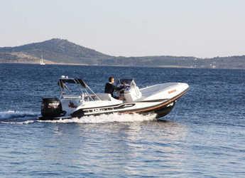 Alquilar lancha en Yacht kikötő - Tribunj - Zar 61 Suite
