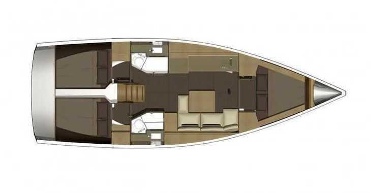 Alquilar velero Dufour 382 Grand Large en Zaton Marina, Zaton
