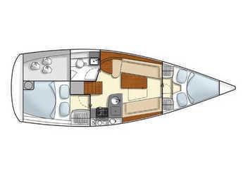 Chartern Sie segelboot Hanse 325 in Kos Port, Kos