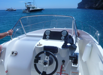 Rent a motorboat Quicksilver Open 675 in Marina el Portet de Denia, Denia