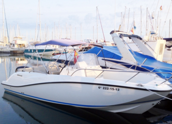 Rent a motorboat in Marina el Portet de Denia - Quicksilver Open 675