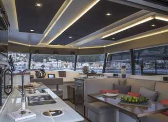 Alquilar catamarán a motor Fountaine Pajot MY37 en Road Reef Marina, Road town