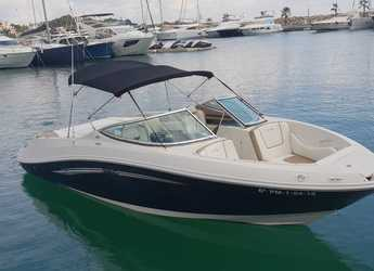 Rent a motorboat in Cala Nova - Sea Ray 230 Select