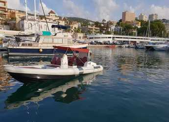 Rent a dinghy in Cala Nova - Tuono 7 Avant L