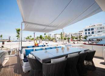 Alquilar yate Technomar Velvet 36 en Ibiza Magna, Ibiza (ciudad)