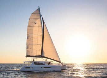 Rent a catamaran Leopard 48 in Eden Island Marina, Mahé