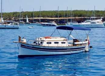 Alquilar lancha en Marina Formentera - Llaut Mitjorn