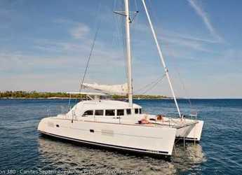Rent a catamaran in Road Town Marina - Lagoon 380