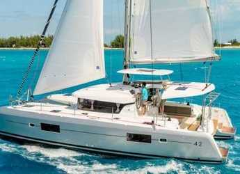 Rent a catamaran in Road Town Marina - Lagoon 42