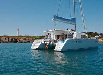 Rent a catamaran in Road Town Marina - Lagoon 450 F