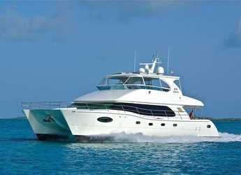 Rent a catamaran in Nanny Cay - Horizon PC60