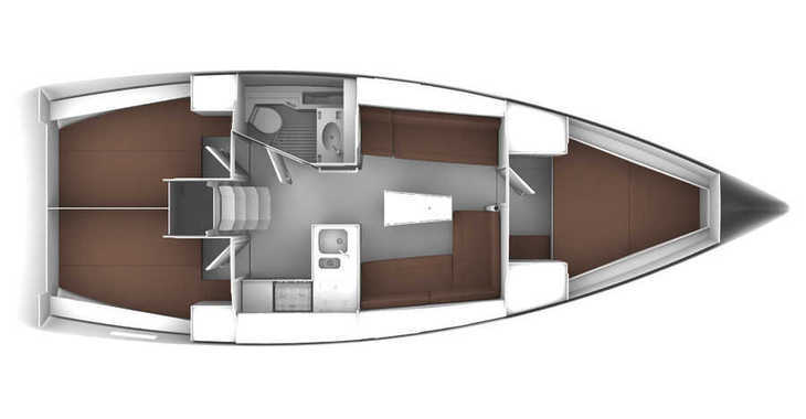Alquilar velero Bavaria 37 en Zaton Marina, Zaton