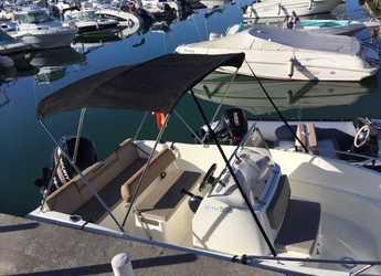 Chartern Sie motorboot Quicksilver activ 505 open in Puerto Benalmádena, Málaga