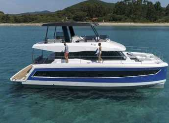 Rent a power catamaran  in Nanny Cay - Fountaine Pajot MY44 Cat