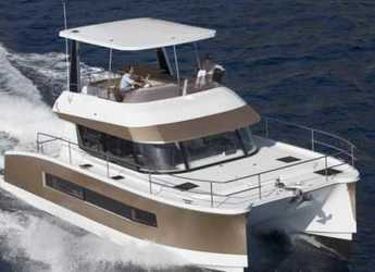 Rent a power catamaran in Nanny Cay - Fountaine Pajot MY37