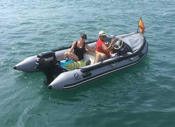 Rent a dinghy in Puerto Benalmádena - Zodiac Mark II Heritage