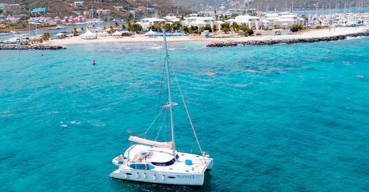 Rent a catamaran Fountaine Pajot Lipari 41 in Sea Cows Bay, Tortola