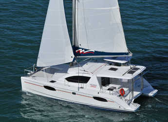 Rent a catamaran in Sea Cows Bay - Leopard 39