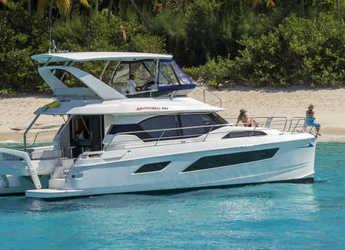 Rent a power catamaran  in Nanny Cay - Aquila 443