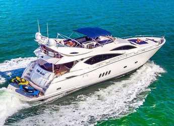Chartern Sie yacht in Nanny Cay - Sunseeker 82
