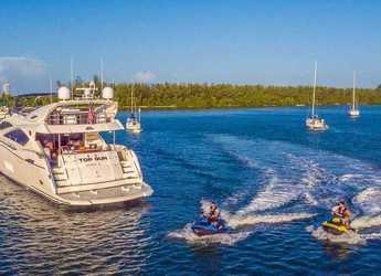 Alquilar yate Sunseeker 82 en Nanny Cay, Tortola