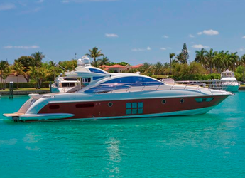 Chartern Sie yacht in Nanny Cay - Azimut 62