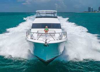 Rent a yacht in Nanny Cay - Hatteras 60