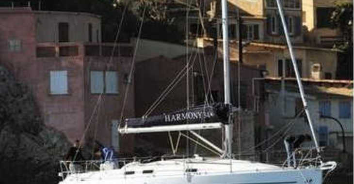 Rent a sailboat in Zaton Marina - Harmony 34