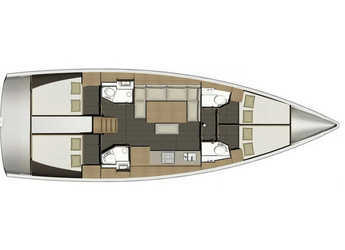 Chartern Sie segelboot Dufour 460 Grand Large in Marina Port Royale, Marigot