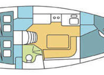 Chartern Sie segelboot Harmony 34 in Zaton Marina, Zaton