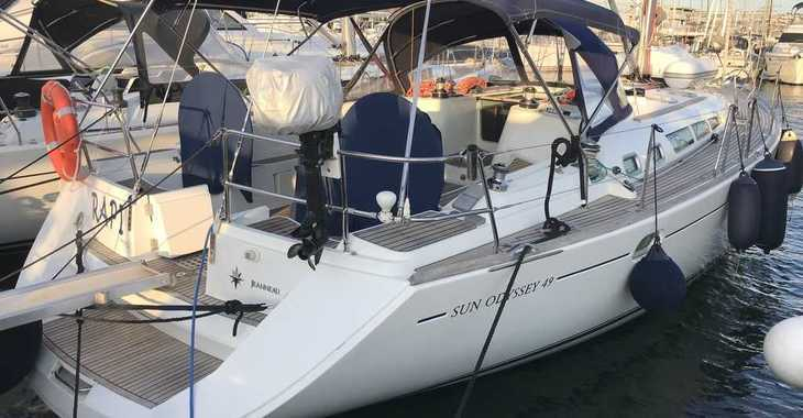 Rent a sailboat in Marina el Portet de Denia - Sun Odyssey 49