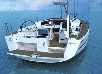 Chartern Sie segelboot Dufour 412 in Port Corbières, Marseille