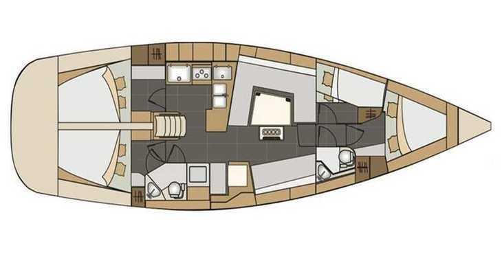 Rent a sailboat in Alimos Marina Kalamaki - Elan Impression 45