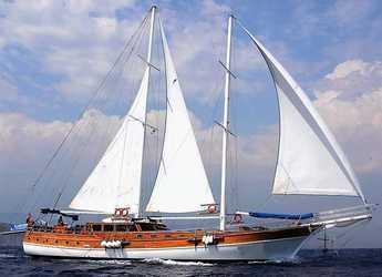 Rent a schooner in Marina Mandraki - Gulet