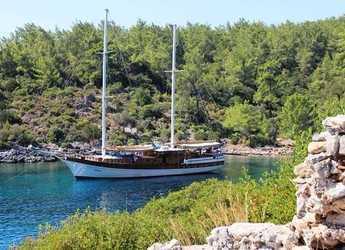 Rent a schooner in Bodrum Marina - Gulet Semercioglu