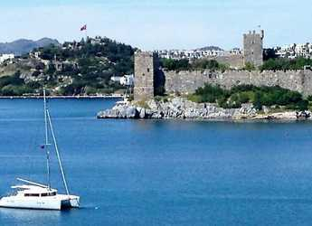 Rent a catamaran in Bodrum Marina - Lagoon 421