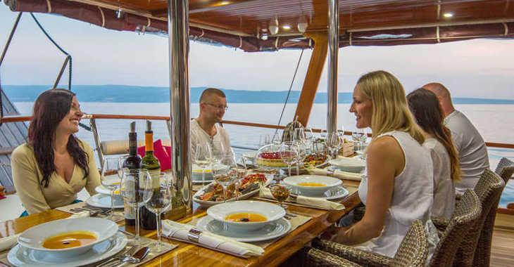 Rent a yacht in Split (ACI Marina) - Gulet