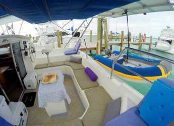 Rent a catamaran St. Francis 44 in Georgetown, Great Exuma