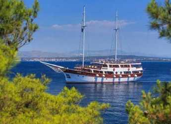 Rent a schooner in Split (ACI Marina) - Gulet 135