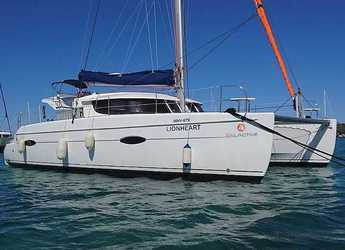 Rent a catamaran in Portocolom - Lipari 41