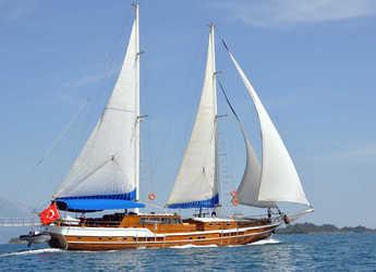 Chartern Sie schoner in Bodrum Marina - Gulet SUN WORLD-6