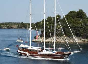 Rent a schooner in Split (ACI Marina) - Gulet 110