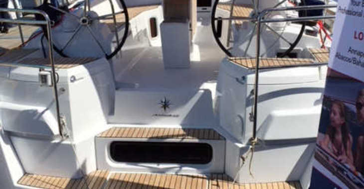 Rent a sailboat in Nanny Cay - Sun Odyssey 41 DS
