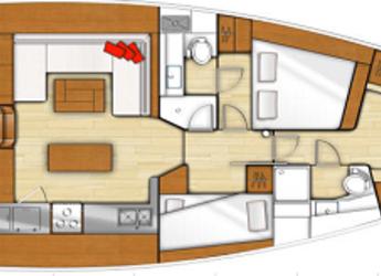 Chartern Sie segelboot Sense 51 in Agios Kosmas Marina, Athen
