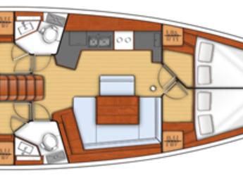 Rent a sailboat in Agios Kosmas Marina - Oceanis 45